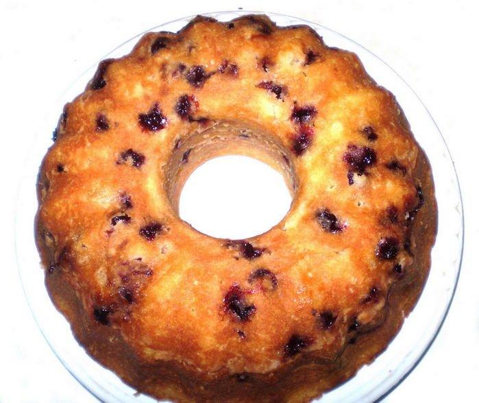 кекс рецепт с вишней с фото