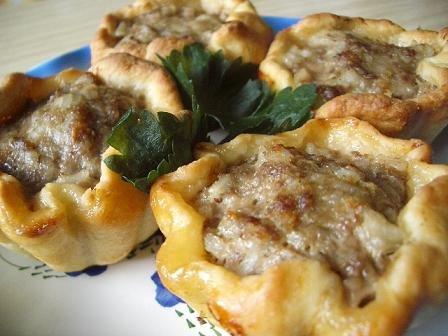 Мясные тефтели в картофельном тесте