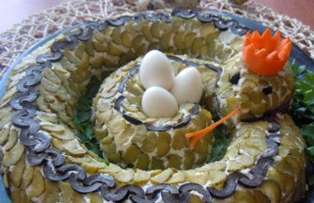 Рецепт Салат Змея