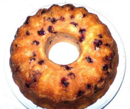 Рецепт Кекс с вишней, орехами и шоколадом