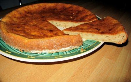 Рецепт Быстрый сырный пирог