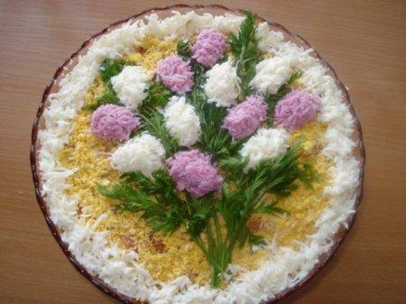 Рецепт Салат Букет сирени