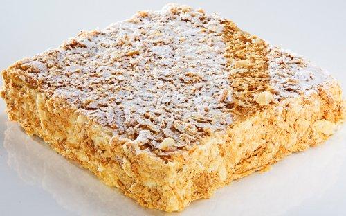 торт наполеон с сгущёнкой рецепт с фото пошагово