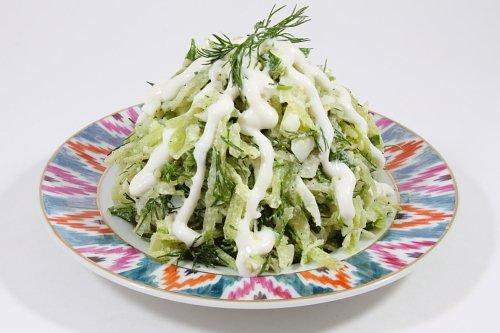 рецепты салатов с капустой и редькой