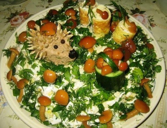 салат полянка ингредиенты