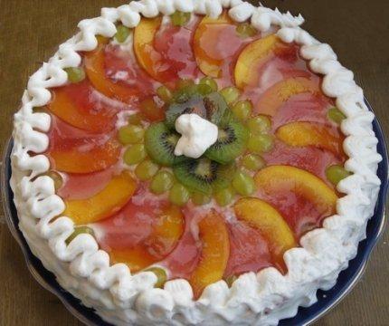 """Торт бисквитный """"Творожный"""""""