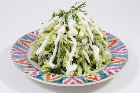 Рецепт Салат с редькой и капустой
