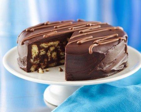 Рецепт Шоколадный торт из печенья