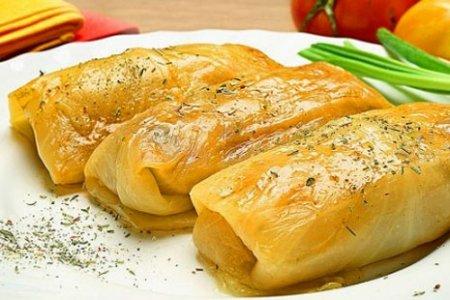 Рецепт Постные овощные голубцы