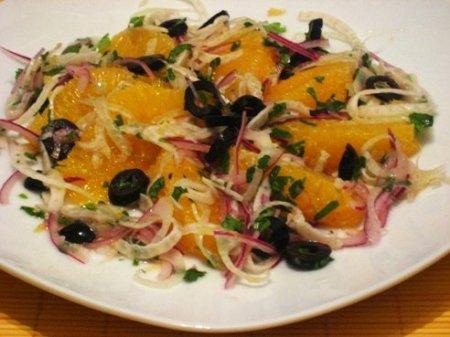 Рецепт Капустный салат с апельсинами
