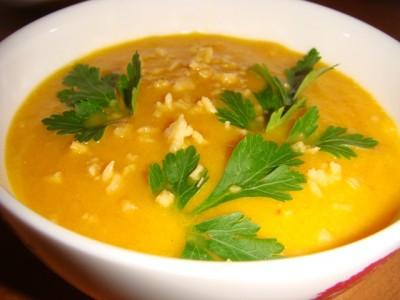 Рецепт Суп-пюре из болгарского перца