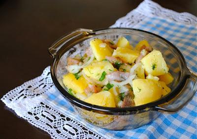 Рецепт Классический французский картофельный салат
