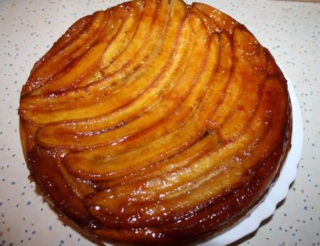 Рецепт Бананово-карамельный пай