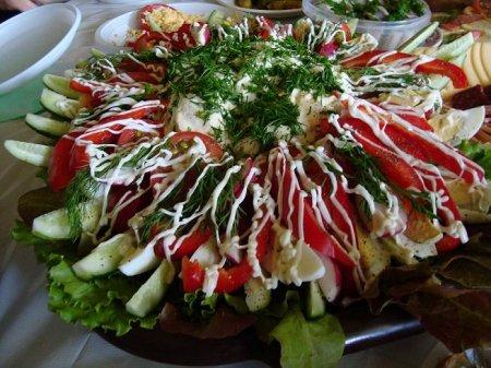 """Рецепт Салат """"Огород"""""""