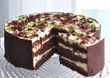 """Торт """"Шоко-лайм"""""""