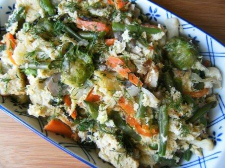 Рецепт Запеканка овощная по-французски на пару