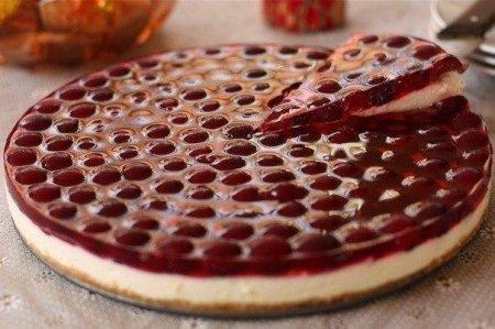 Рецепт Вишневый торт без выпечки