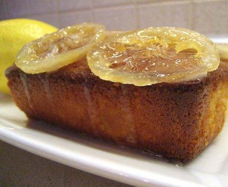 Рецепт Паундкейк лимонный (Фунтовый лимонный кекс)