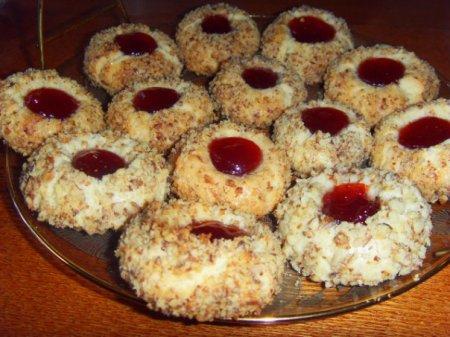 Рецепт Песочное печенье с вареньем