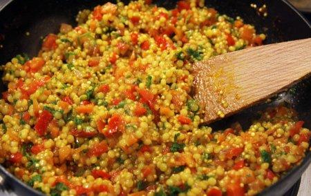 Рецепт Кус-кус с овощами и петрушкой