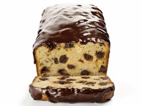 Рецепт Банановый кекс с шоколадом