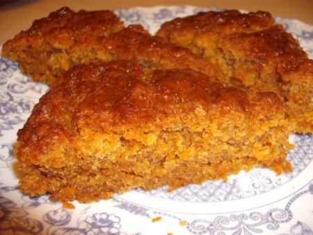 Рецепт Постный бисквит морковный