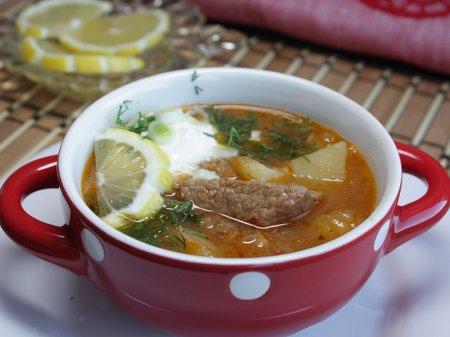 Суп-гуляш по-тирольски (австрийская кухня)