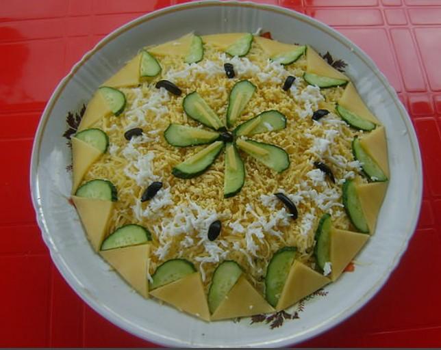 салат вьюга рецепт с фото пошагово
