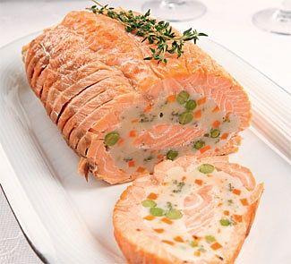 Рецепт Рулет из лосося