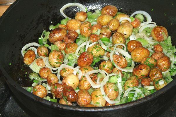 Кулинарный рецепт из молодой картошки #1