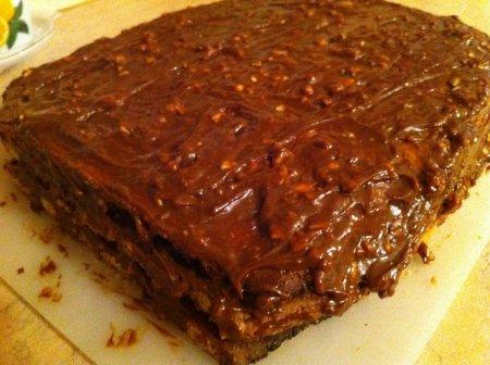 Торт со сгущенкой сладкая фантазия