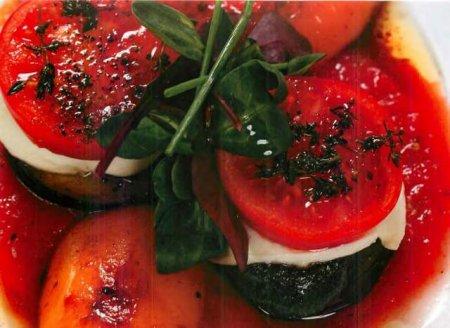 Рецепт Мильфей овощной с томатами