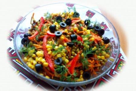 Рецепт Салат из морской капусты и моркови по-корейски