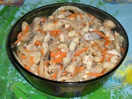 Рецепт Хе из сельди по-корейски