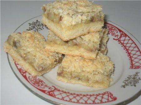 Рецепт Банановые пирожные «Банкокко»