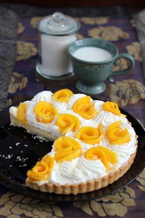 Рецепт Кокосовый пирог с манго