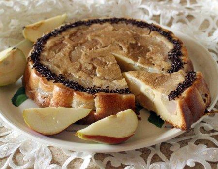Рецепт Заливной грушевый пирог