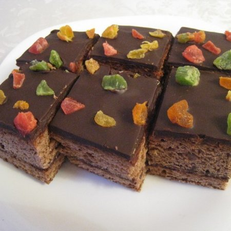 Рецепт Кекс шоколадный на сгущенке