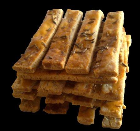Рецепт Соленое финское печенье