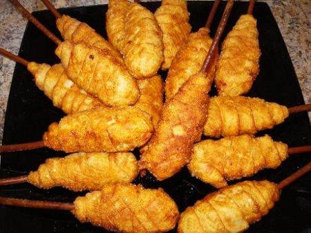 Рецепт Горячая закуска  «Ложные куриные ножки»