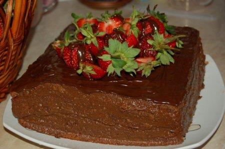 Рецепт Торт «Шоколадное кухэ»