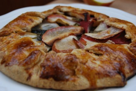 Рецепт Галета с яблоком и щавелем