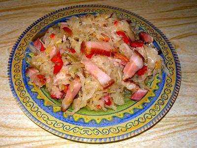 Рецепт Капуста в венгерском стиле