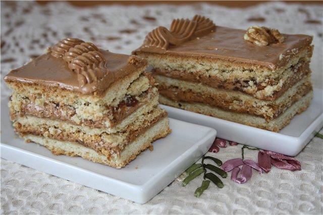 торт ленинградский рецепт с фото