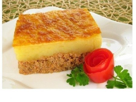 Рецепт Запеканка с фаршем и картошкой