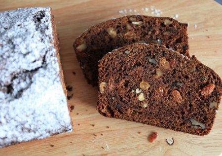 Рецепт Содовый хлеб с хурмой