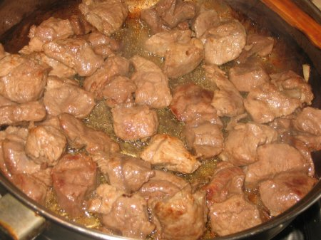 Рецепт Мясо с грушей по-аргентински