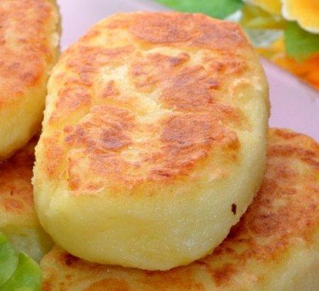 Рецепт Картофельные котлеты с соусом
