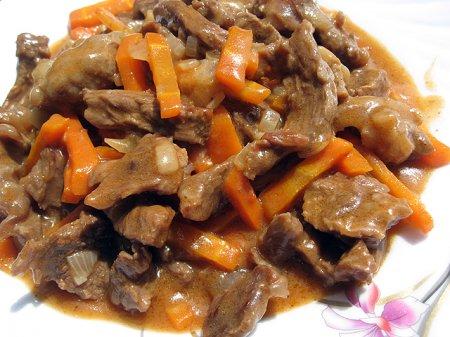 Либжэ - мясо тушеное по-кабардински