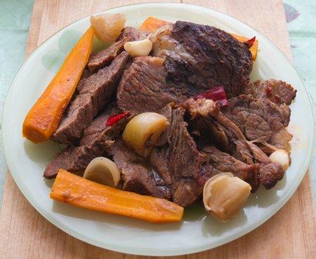 Рецепт Говядина, запеченная с овощами в латиноамериканском стиле